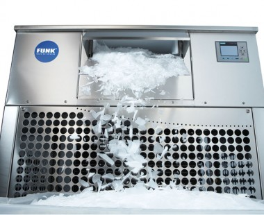 Automatic scale ice machines Funk EasyClean® - Type F with easy cleaning principle